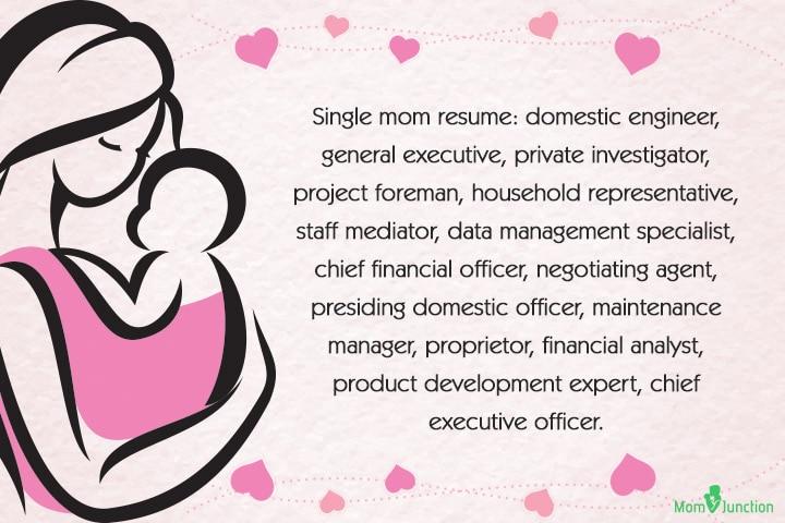 Single Mom Quotes on Life - Single mom resume