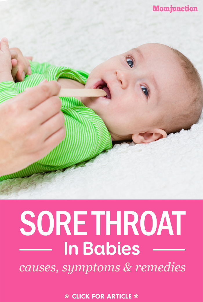 Baby Sore Throat - Causes, Symptoms And Home Remedies