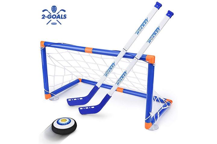Street Walk Kids LED Hockey Hover Set