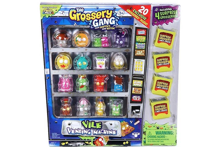 The Grossery Gang vile vending machine