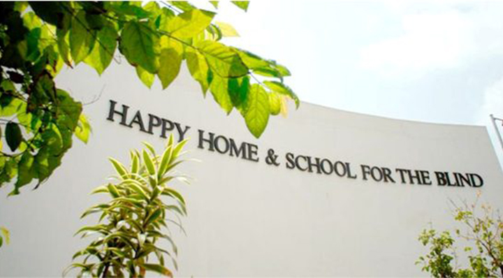 The Happy Home And School For The Blind