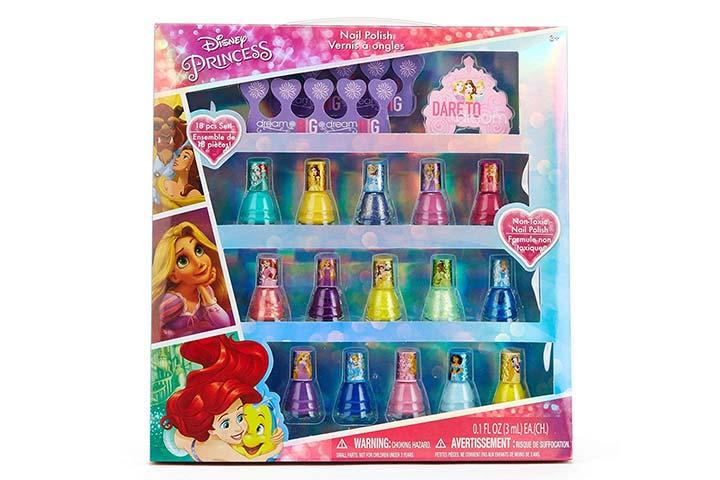 Townley Girl Disney Princess Peel Off Nail Polish