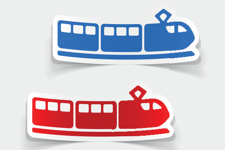 Train Bookmark Craft