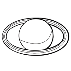 Solar System Uranus Coloring Pages