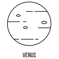 Venus Coloring Pages to Print