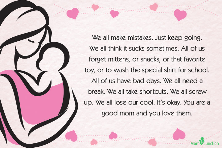 Single Mom Quotes - We all make mistakes