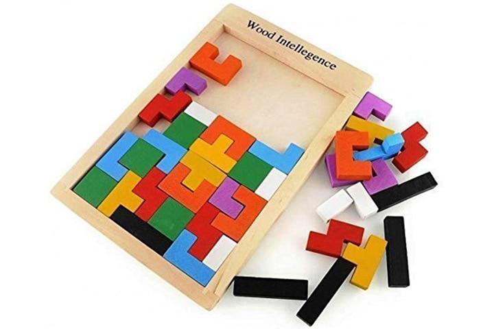 Wooden Tetris Jigsaw Puzzle