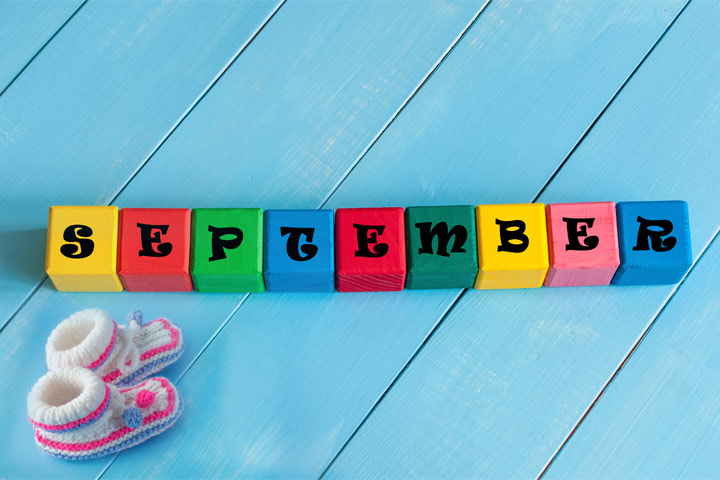 September Baby Names: 21 Names For Babies Born In September