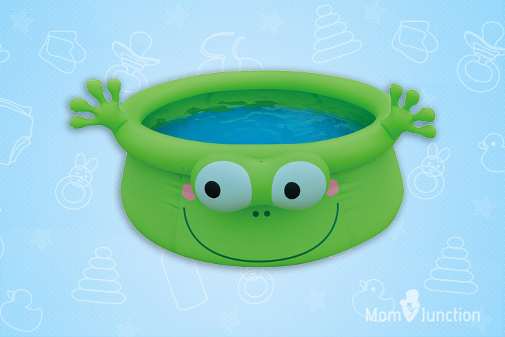 Swimming Pools For Kids - Balance Living Inflatable Frog Animal Pool ToyTub