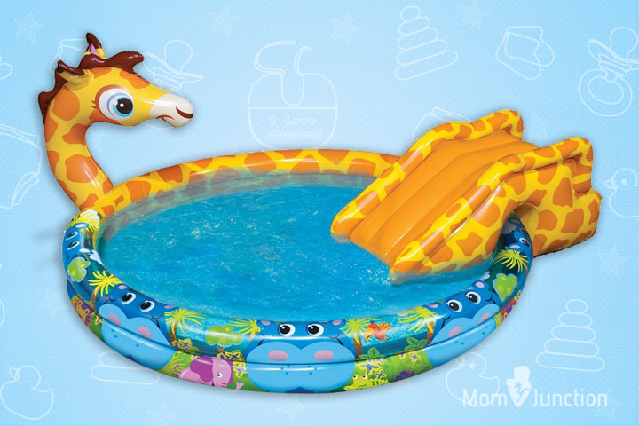 Swimming Pools For Kids - Banzai Spray and Splash Giraffe Pool