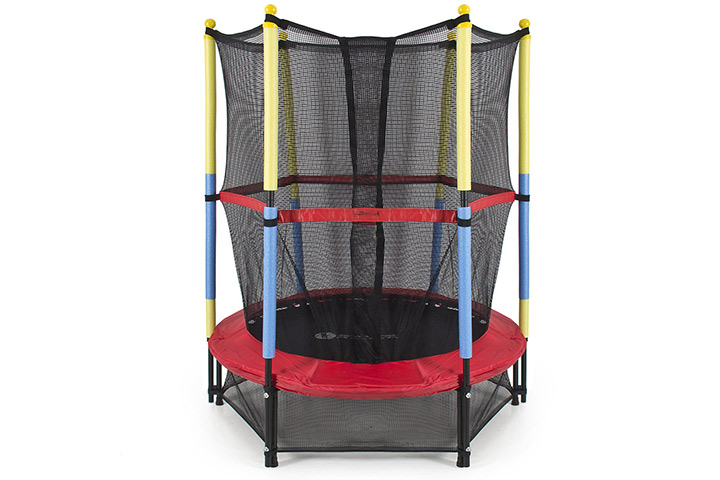 """Trampolines For Kids - Best Choice Products 54"""" Round Kids Mini Trampoline"""