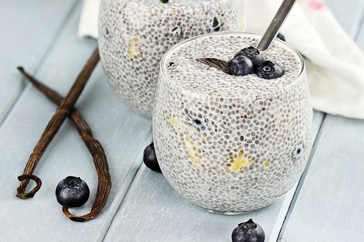 Chia Seeds For Kids - Chia Seeds Pudding