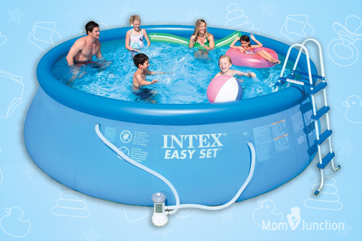 15 Best Portable Swimming Pools For Kids
