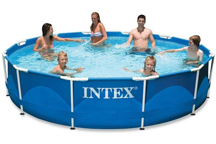 Intex Metal Frame Pool with Filter Pump