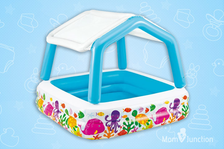 7 Intex Sun Shade Inflatable Pool