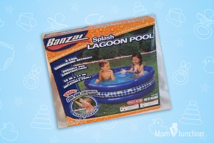 Swimming Pools For Kids - Manley Banzai Kids Splash Lagoon Pool