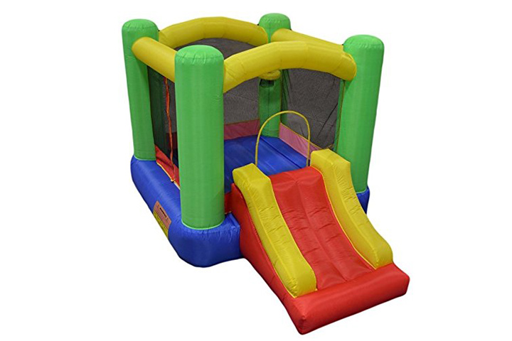 Trampolines For Kids - My Bouncer Little Round Castle Bounce House