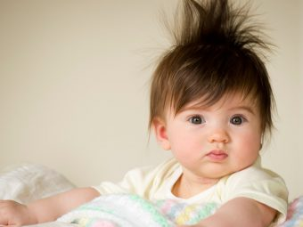 15 Pictures Of Babies Born With Full Heads Of Hair
