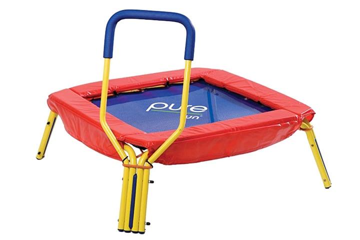Trampolines For Kids - Pure Fun Kids First Jumper Trampoline