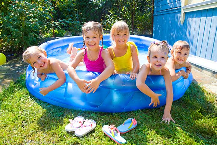 Kiddie Swimming Pools Pictures
