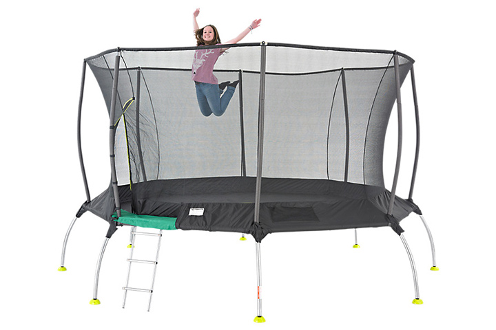 Trampolines For Kids - TP Genius 2 Octagonal SurroundSafe