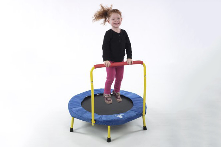 Trampolines For Kids - The Original Toy Company Fold & Go Trampoline