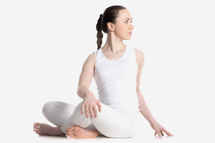 Pregnancy Yoga - The Twisted Pose, Or Vakrasana