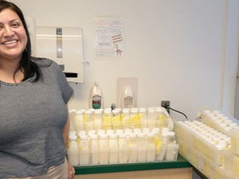 Woman Donates Unbelievable 15 Gallons Breast Milk