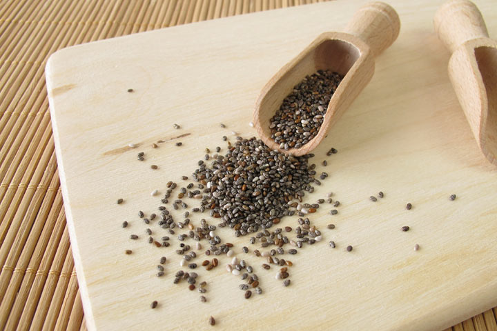 chia seeds while breastfeeding