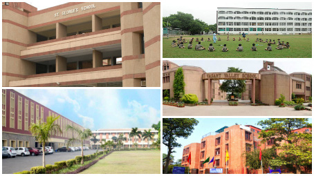 schools in south delhi- f