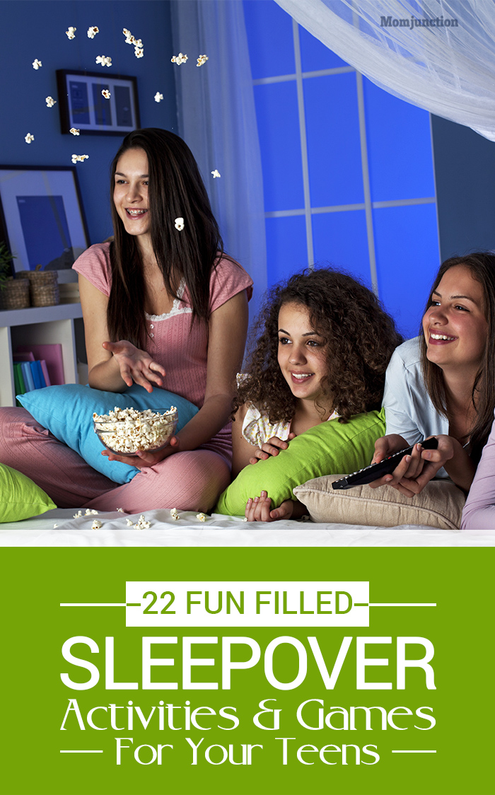 Teen Sleepover Fun 2