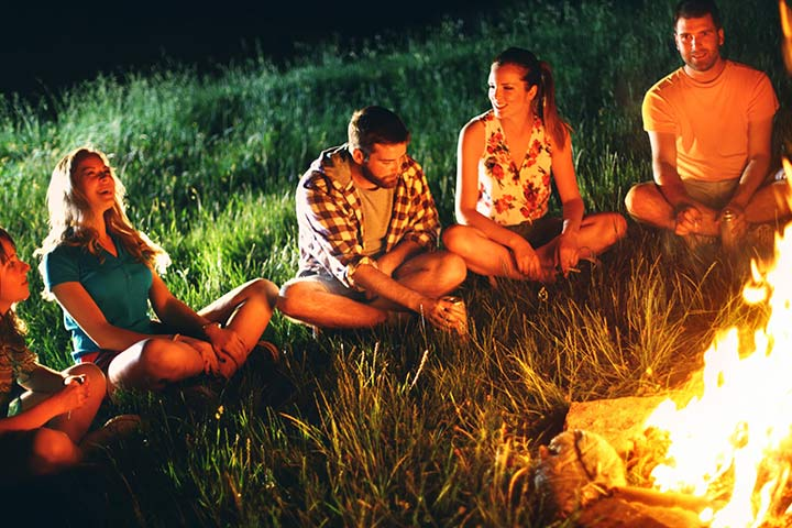 Camping Activities And Games For Teen