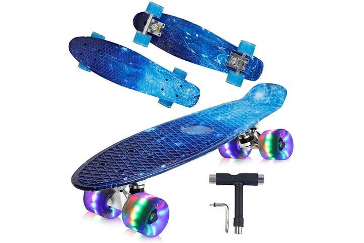 Geelife Mini Cruiser Skateboard