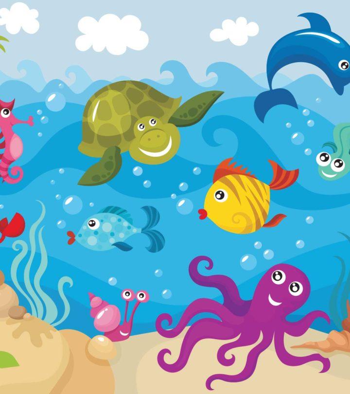 sea animals information for kids