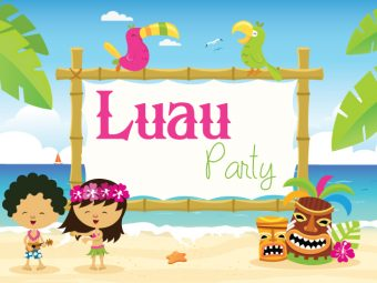 16 Joyous Luau (Hawaiian) Party Ideas For Kids