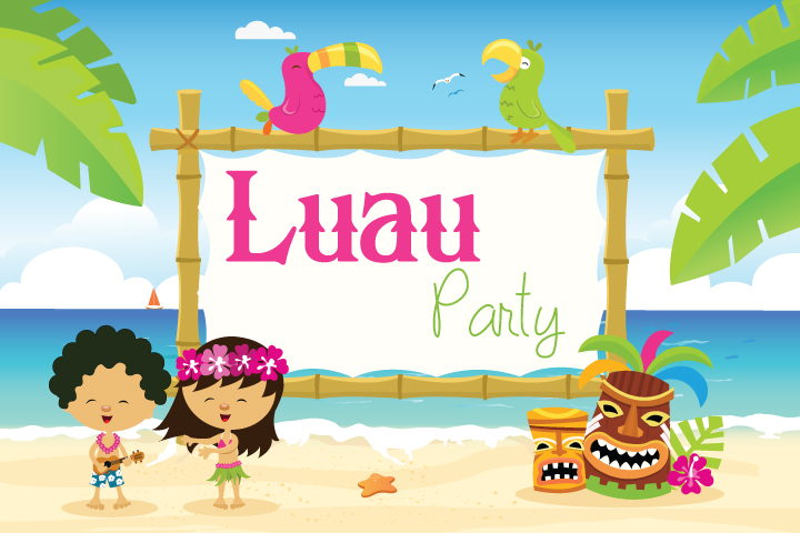 16 Joyous Luau Party Ideas For Kids
