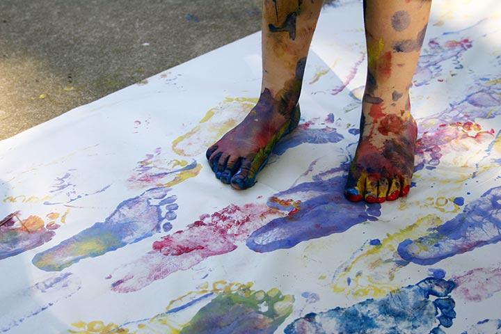 Painting dance