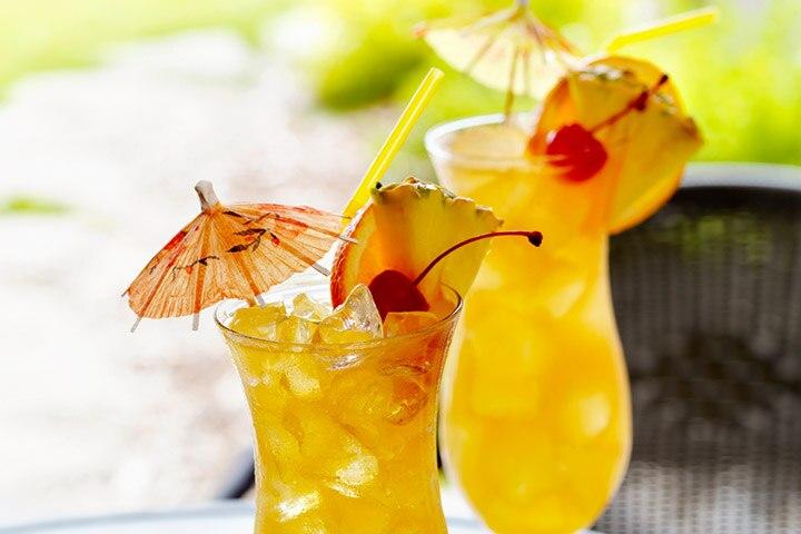 Pineapple Orange Martini