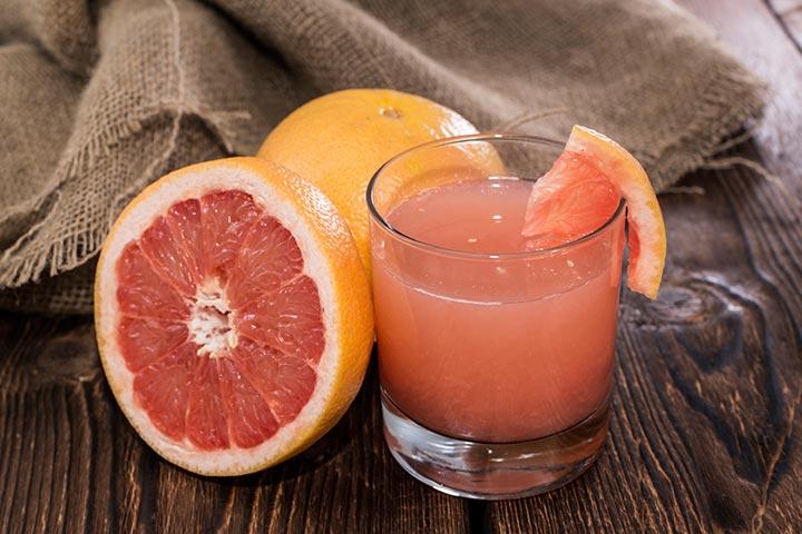 Pink Grapefruit Cooler