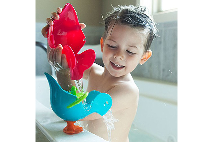 Features The Quack Stack Is A Duck Shaped Bath Toy Made Of Non Toxic Material Has