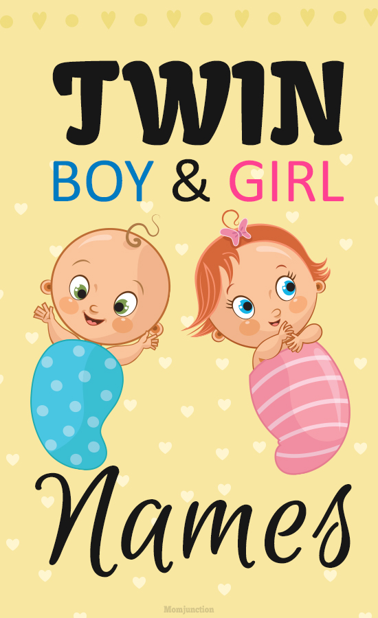 Twin Boy And Girl Names 50 Unique Boy Girl Twin Names-5556