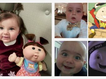 11 Unexpected Things These Babies Resemble