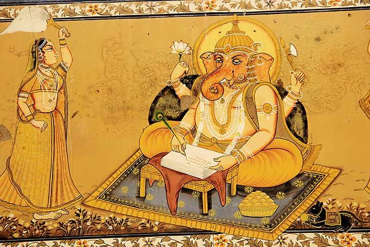 Ganesha and Ved Vyas