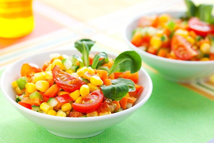 Sweet Corn SaladChaat