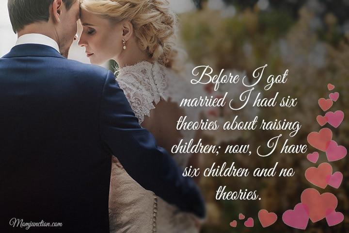 Before I got married