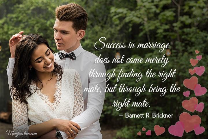 non romantic marriage