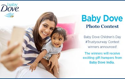 Baby Dove Children's Day #Trustyourway Contest Winners Announced