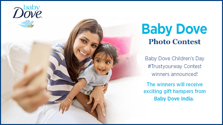 baby dove contest