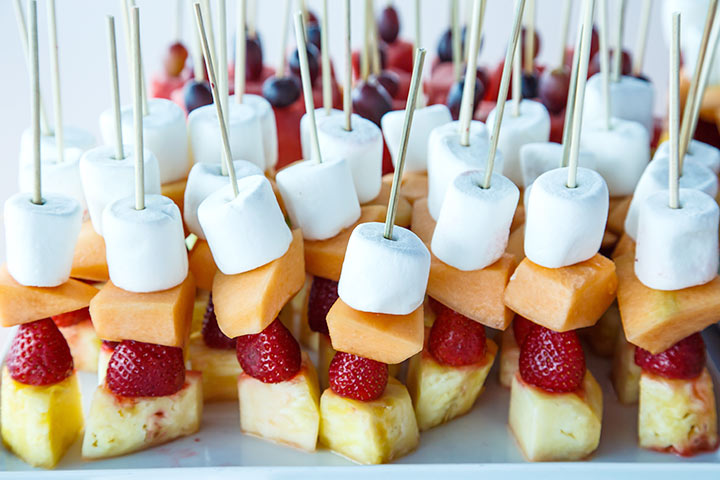 Charming 12. Strawberry Kebabs