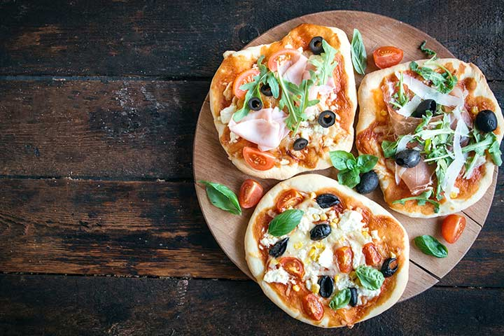 Finger Food Mini Pizzas Recipes For Baby Shower